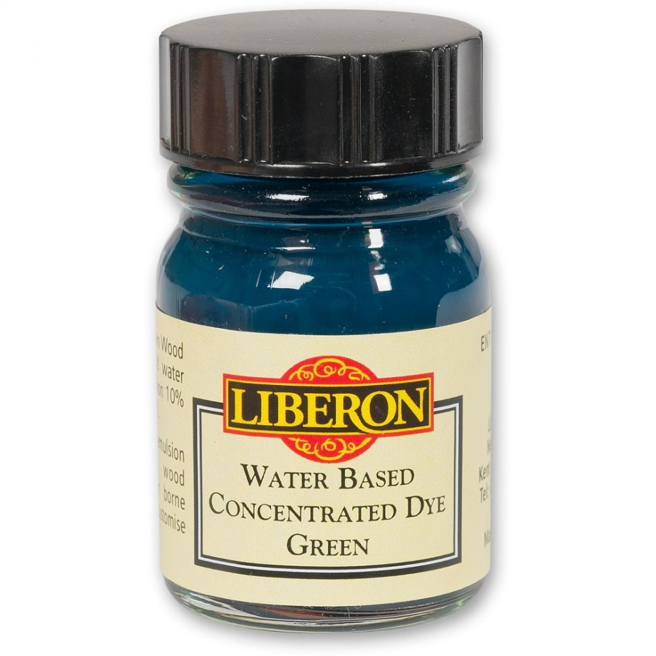 Liberon Concentrated Soluble Dye - Green 15ml