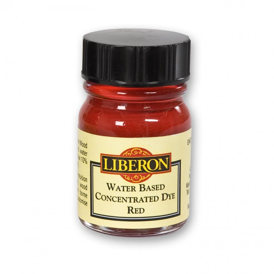 Liberon Concentrated Soluble Dye - Red 15ml