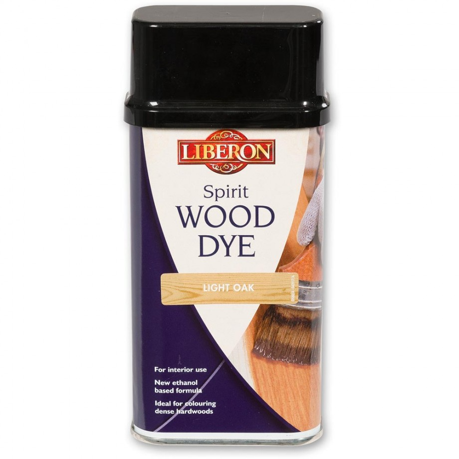 Liberon Spirit Wood Dye - Light Oak 250ml
