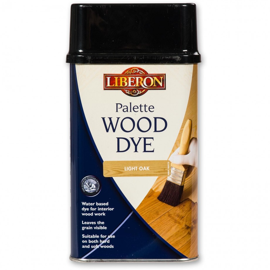 Liberon Palette Wood Dye - Light Oak 500ml