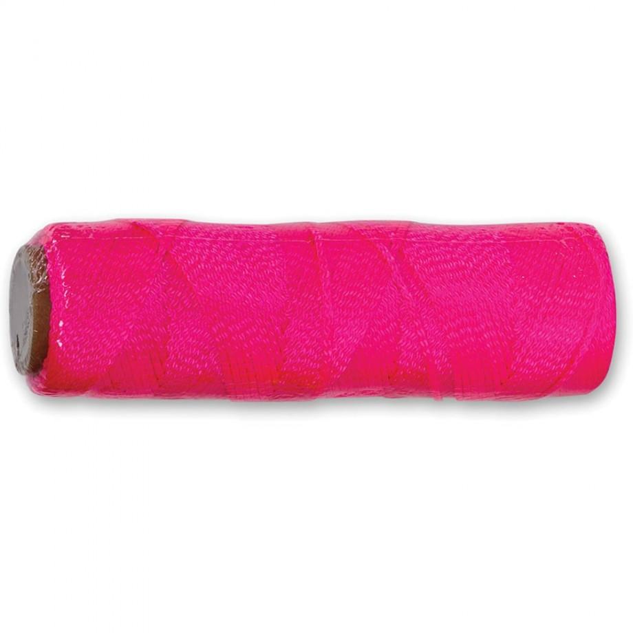 Marshalltown Mason's Line - Hi-viz Pink 76m