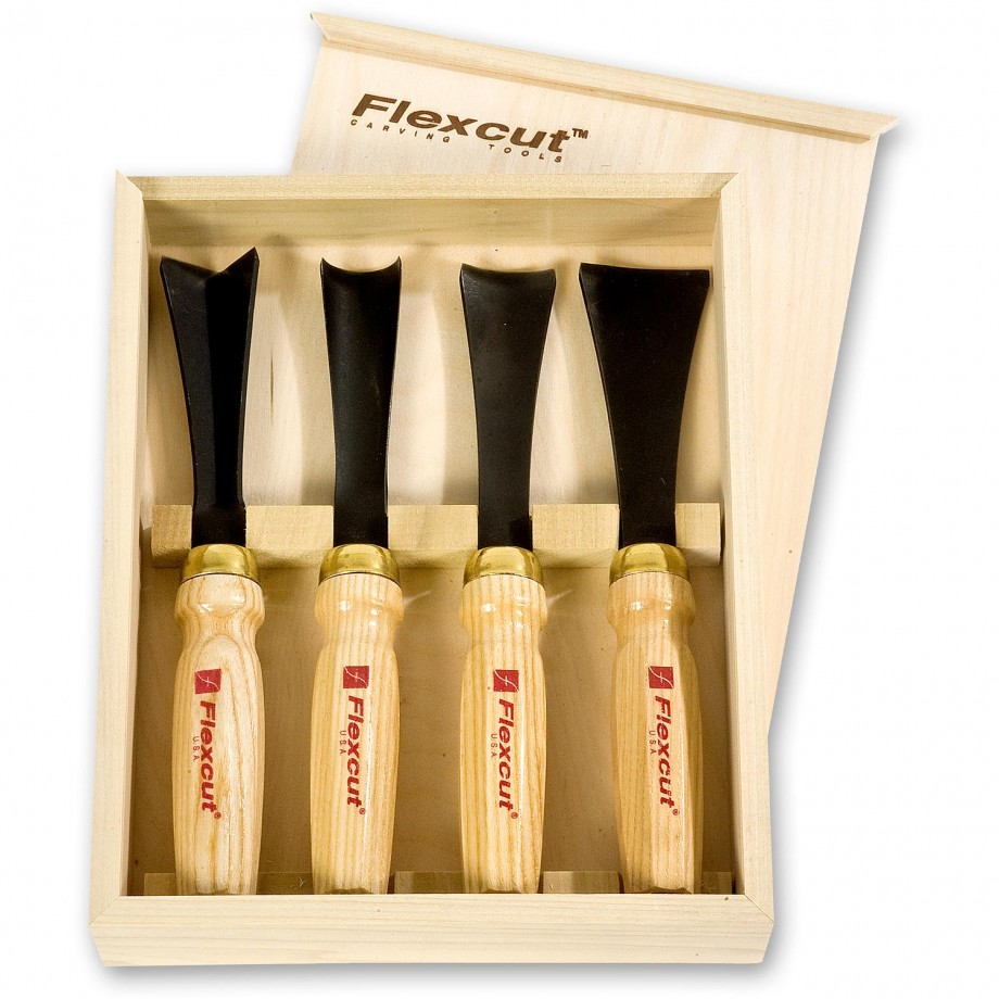 Flexcut MC175 4 Piece Mallet Sculptors Set