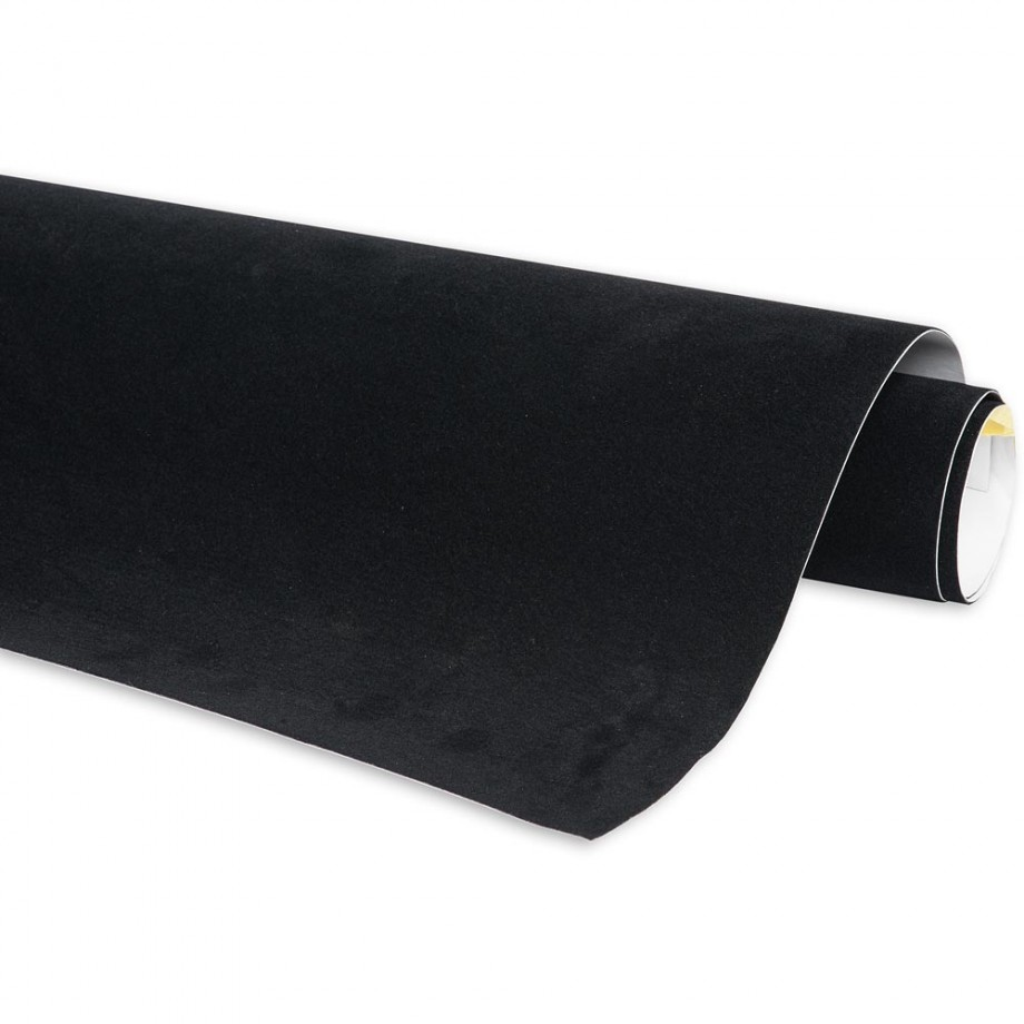 Craftprokits Crushed Velvet Roll - Black