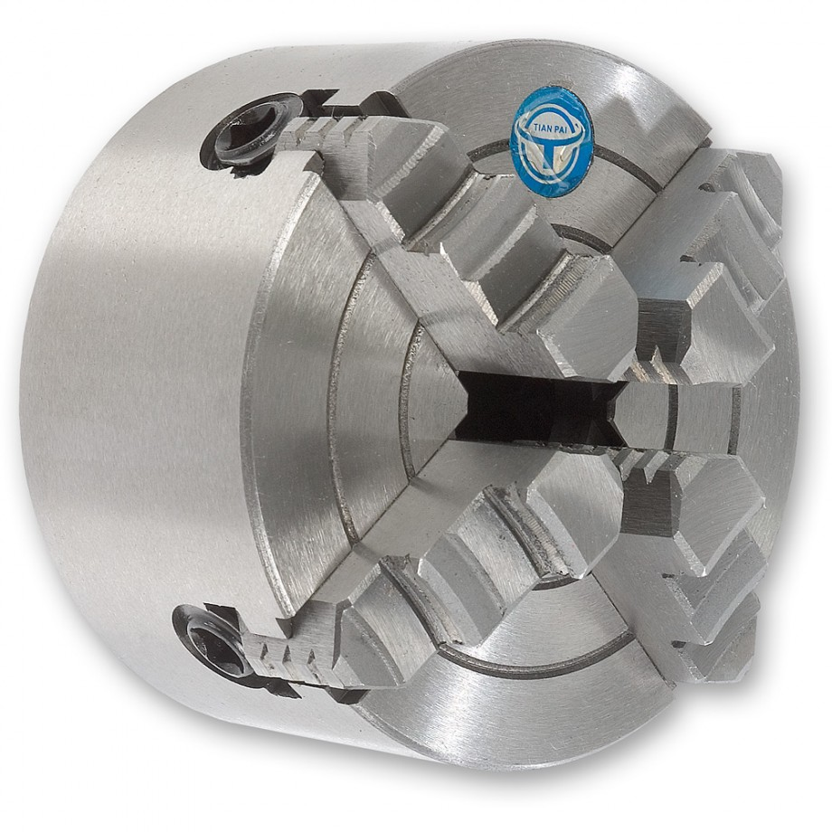 Axminster SIEG SC4 4-Jaw Independent Chuck