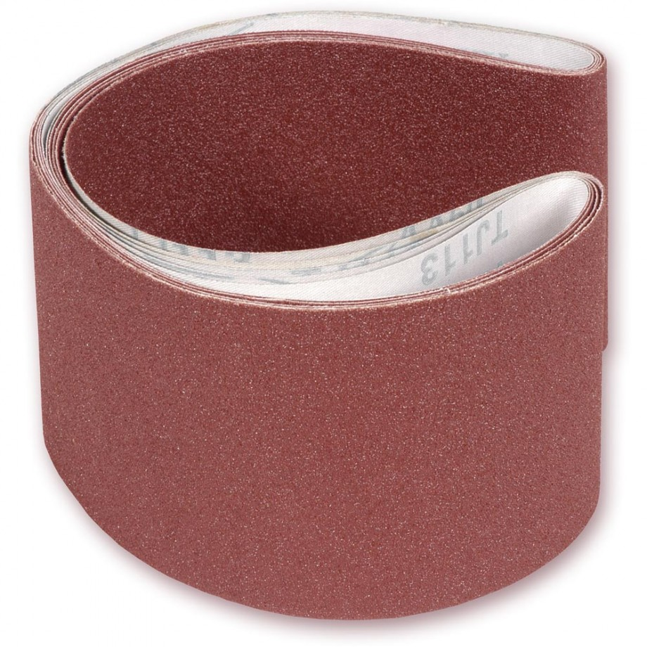 Mixed Pack of Sanding Belts 150 x 1,220mm