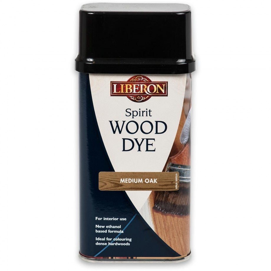 Liberon Spirit Wood Dye - Medium Oak 250ml