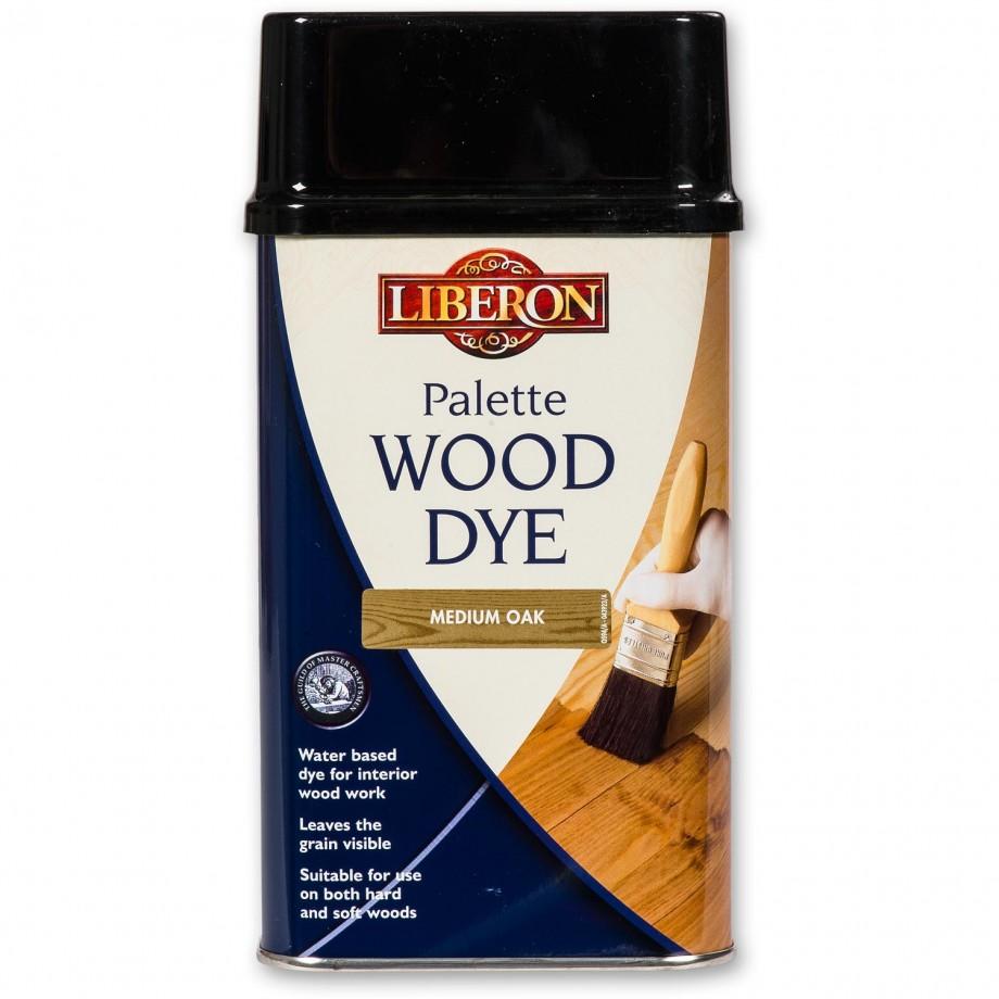 Liberon Palette Wood Dye - Medium Oak 500ml