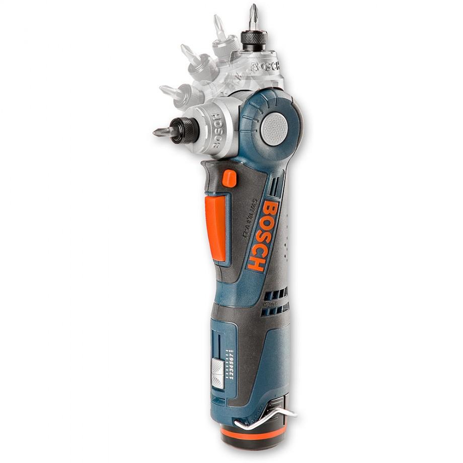 Bosch GWI 10.8 V-LI Cordless Angle Screwdriver Kit 10.8V (2.0Ah)