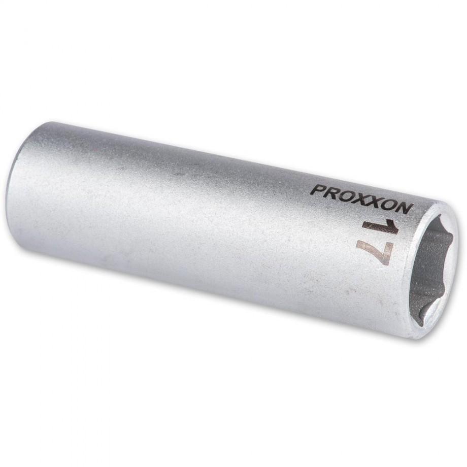 """Proxxon 1/2"""" Drive Deep Socket - 17mm"""