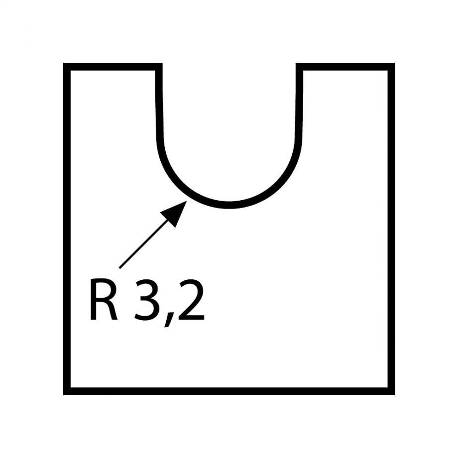 Proxxon Core Router Bit 3.2mm radius