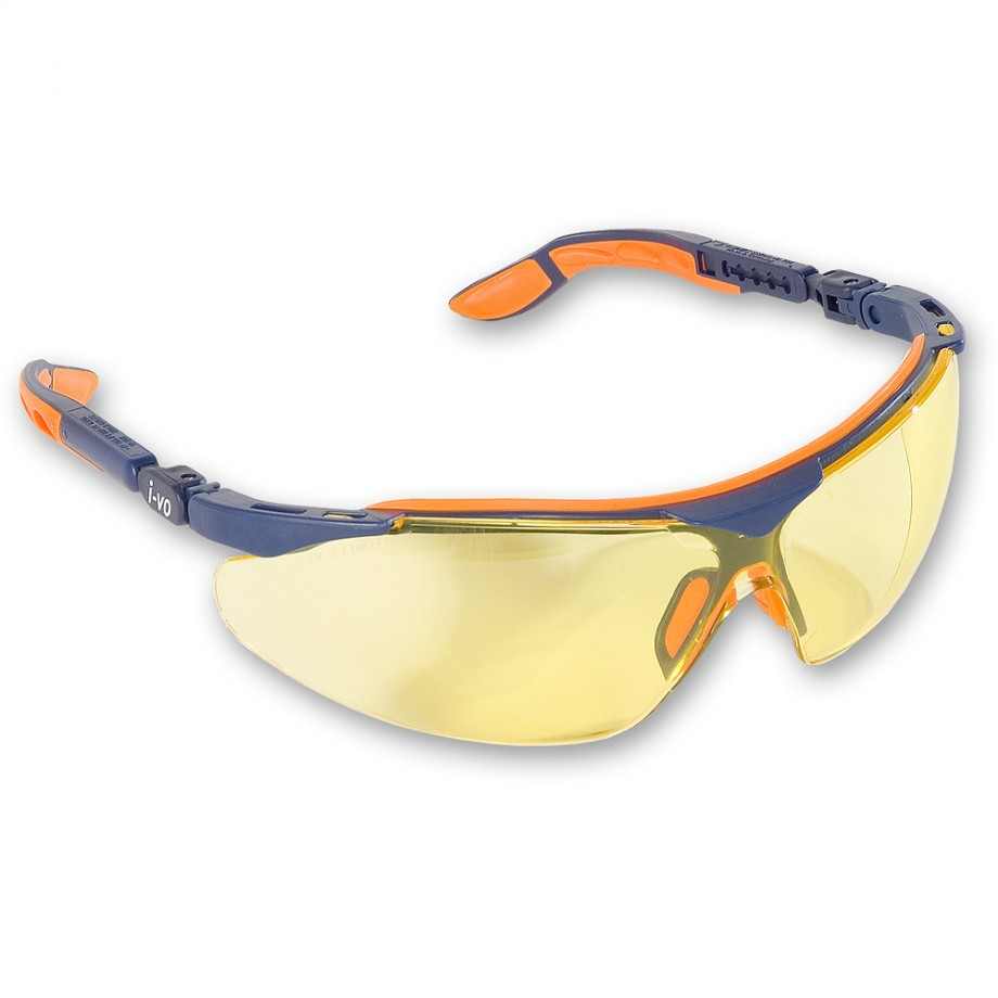 uvex i-vo Safety Spectacles - Amber