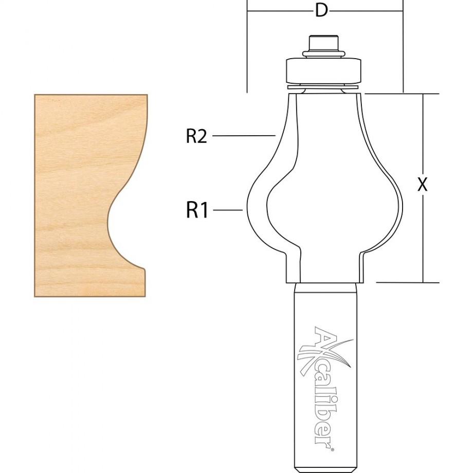 Axcaliber Handrail Cutter
