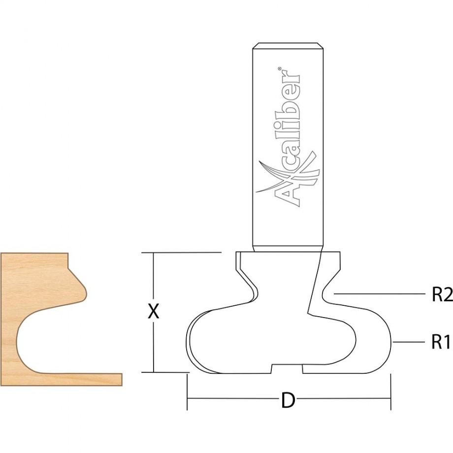 Axcaliber Drawer Pull Cutter 2