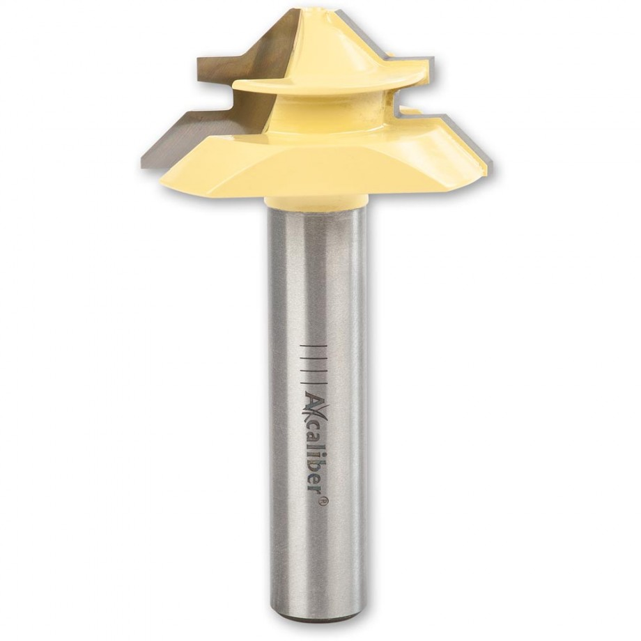 """Axcaliber Mitre Lock Cutter - D=44.5 - X=20.55mm - S=1/2""""(12.7mm)"""
