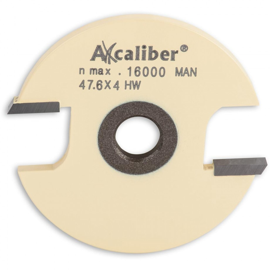 Axcaliber 2mm 2 Wing Slot Router Cutter