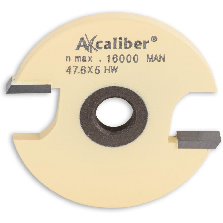 Axcaliber 5mm 2 Wing Slot Router Cutter