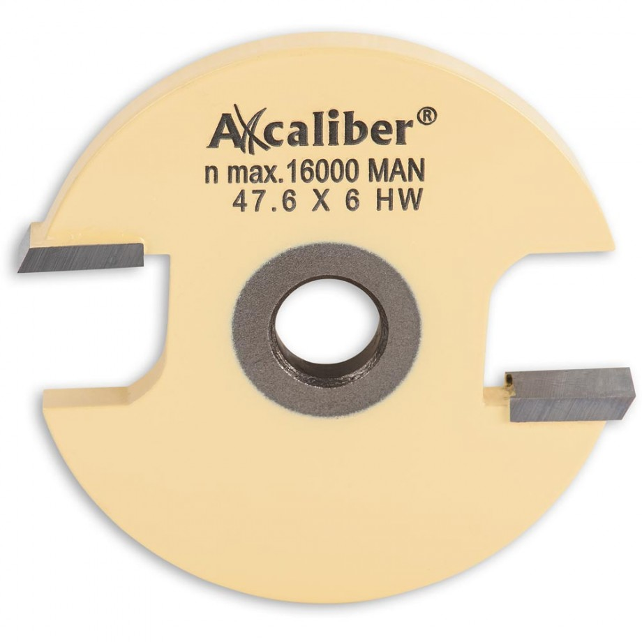 Axcaliber 6mm 2 Wing Slot Router Cutter