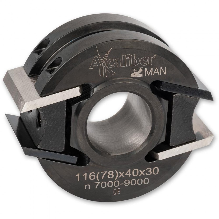 Axcaliber Cutter Head - 78mm Diameter, 30mm Bore
