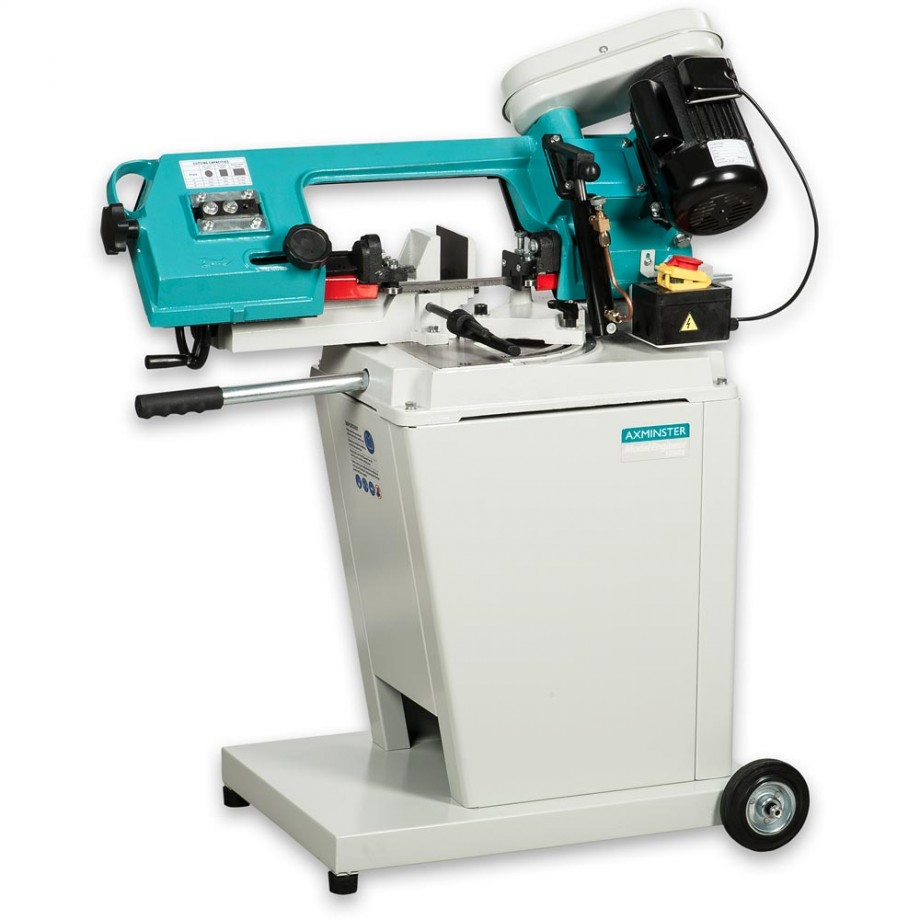 Axminster Model Engineer Series MCB115SHD Swivel Head Metal Cutting Bandsaw