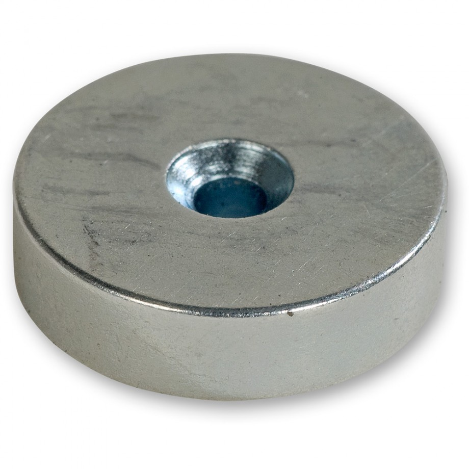 Axminster Countersunk Magnets - 19mm (Pkt 5)