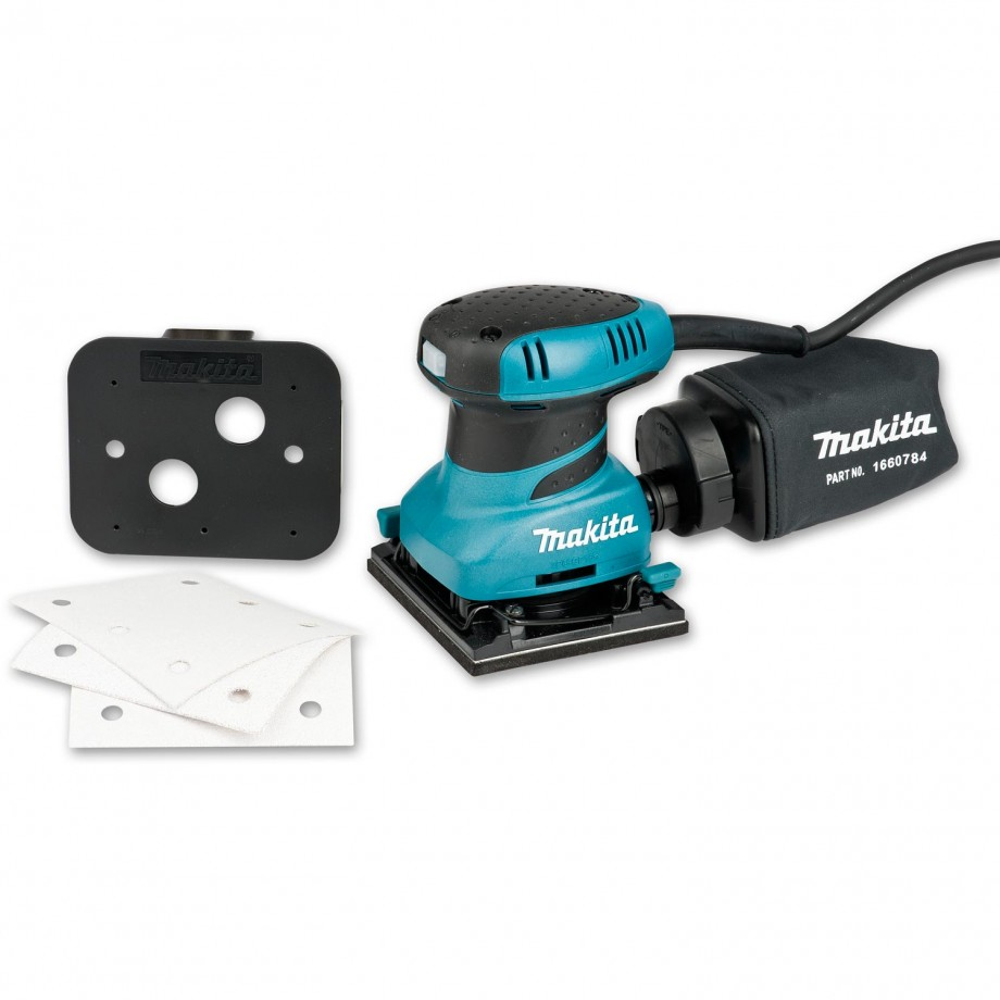 Makita BO4555 Palm Sander - 230V
