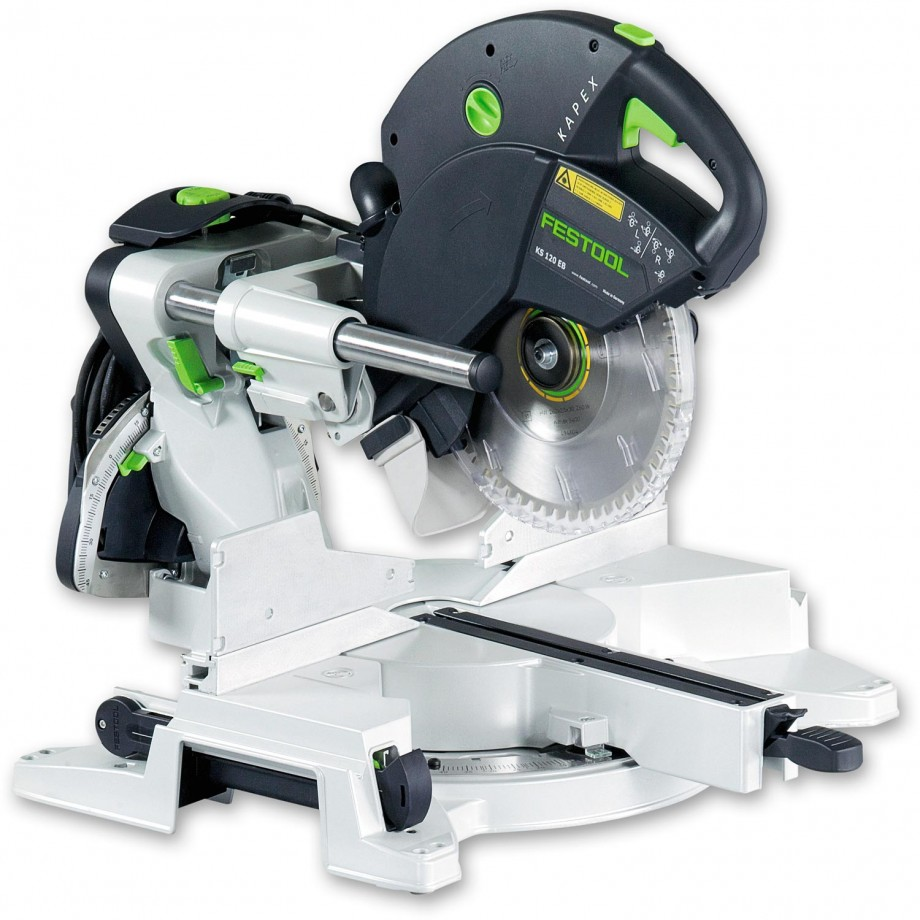 festool kapex ks 120 eb compound slide mitre saw mitre saws saws machinery axminster. Black Bedroom Furniture Sets. Home Design Ideas