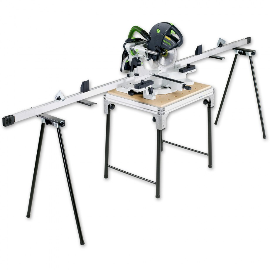 Festool KS120EB Compound Slide Mitre Saw Set - 110V