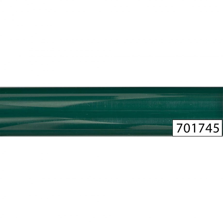 Decorative Polyester Pen Blanks - Green 20mm - Round