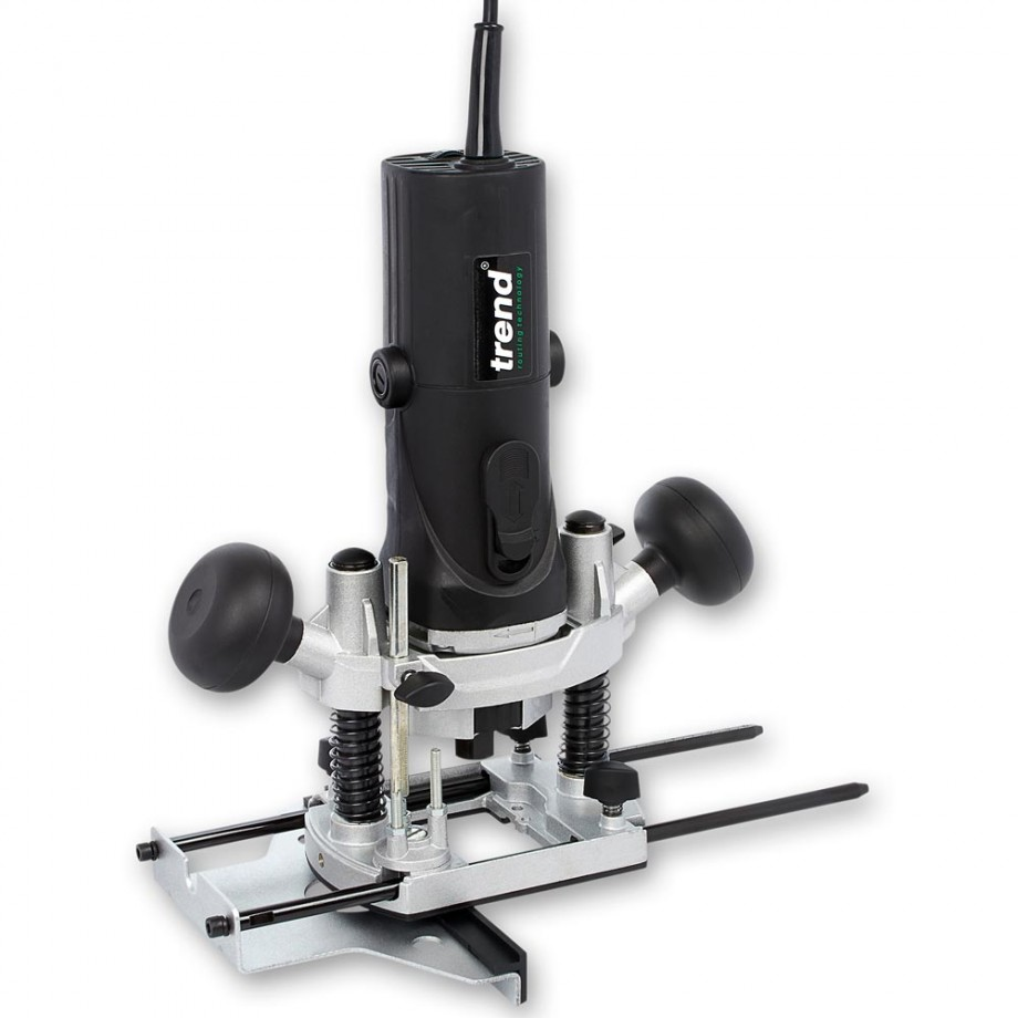 "Trend T4 1/4"" Router - 230V"