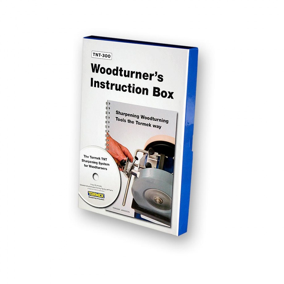 Tormek TNT-300 Woodturner's Instruction Box