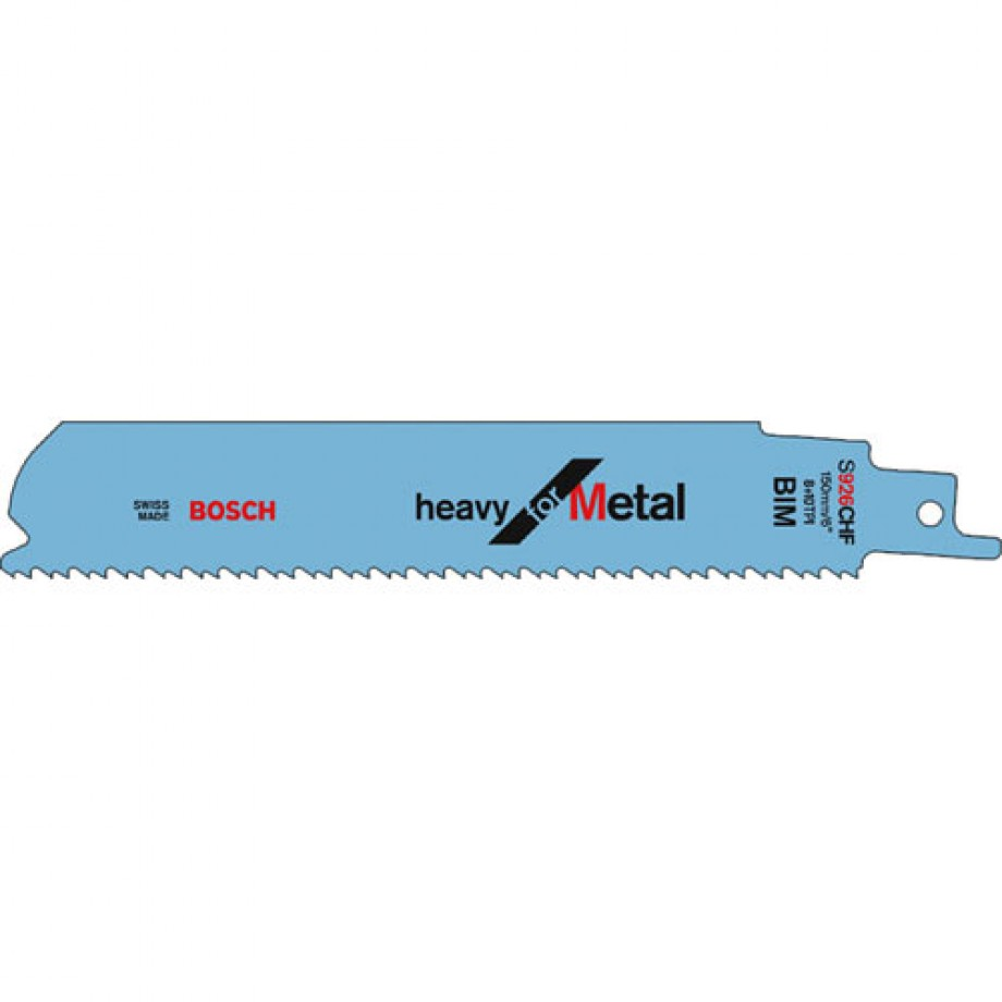 Bosch S926CHF Metal Pipe and Profile Sabre Saws Blade