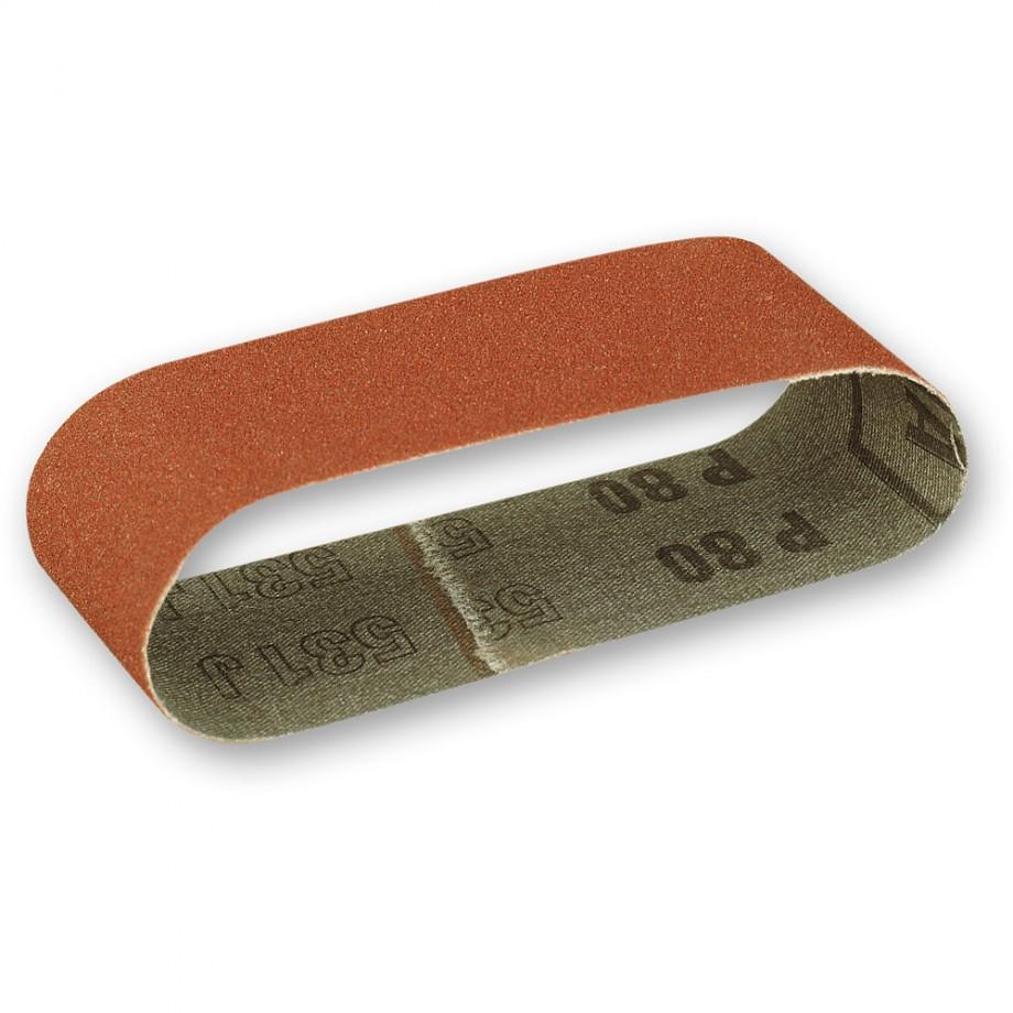 Proxxon Sanding Belt 40 x 265mm x 80 Grit (Pkt 5)