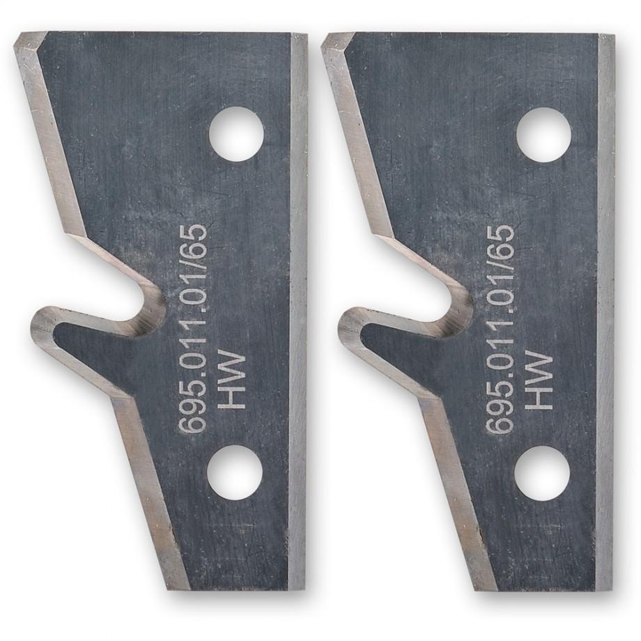 Axcaliber Knives for 45deg Lock Mitre Cutter Head