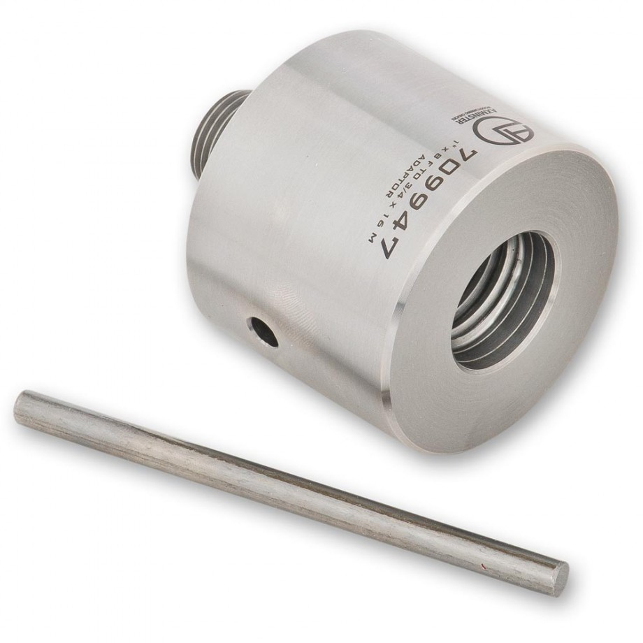 Axminster Spindle Thread Adaptor