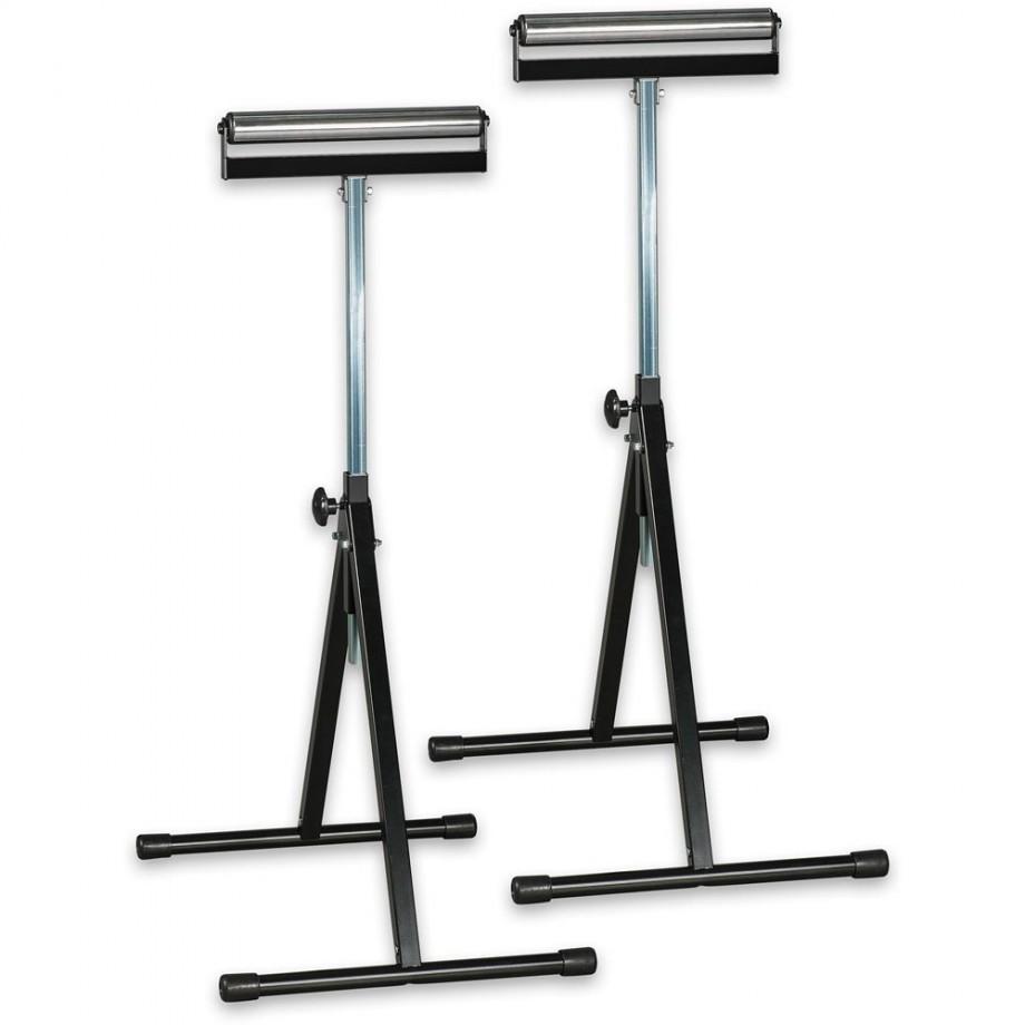 Axminster Fold Flat Roller Stands (Pair)