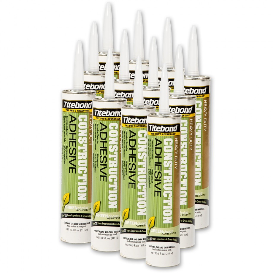 Titebond Solvent Free Construction Adhesive - Box of 12