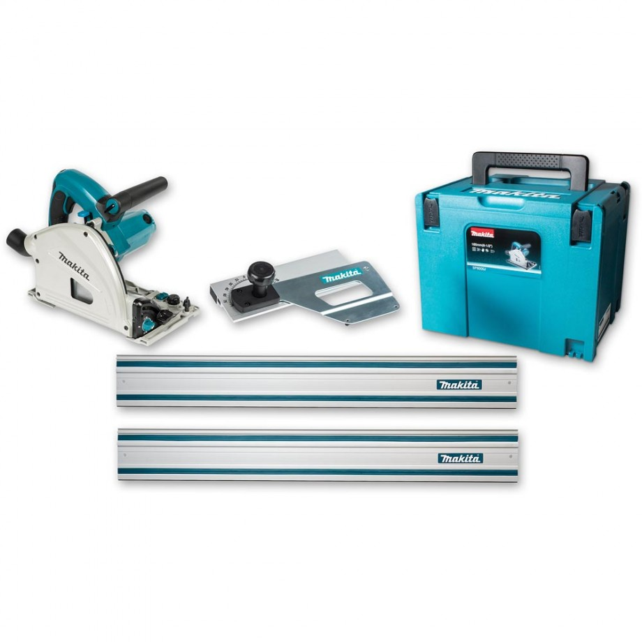 Makita SP6000J1 Plunge Saw 230V - PACKAGE DEAL