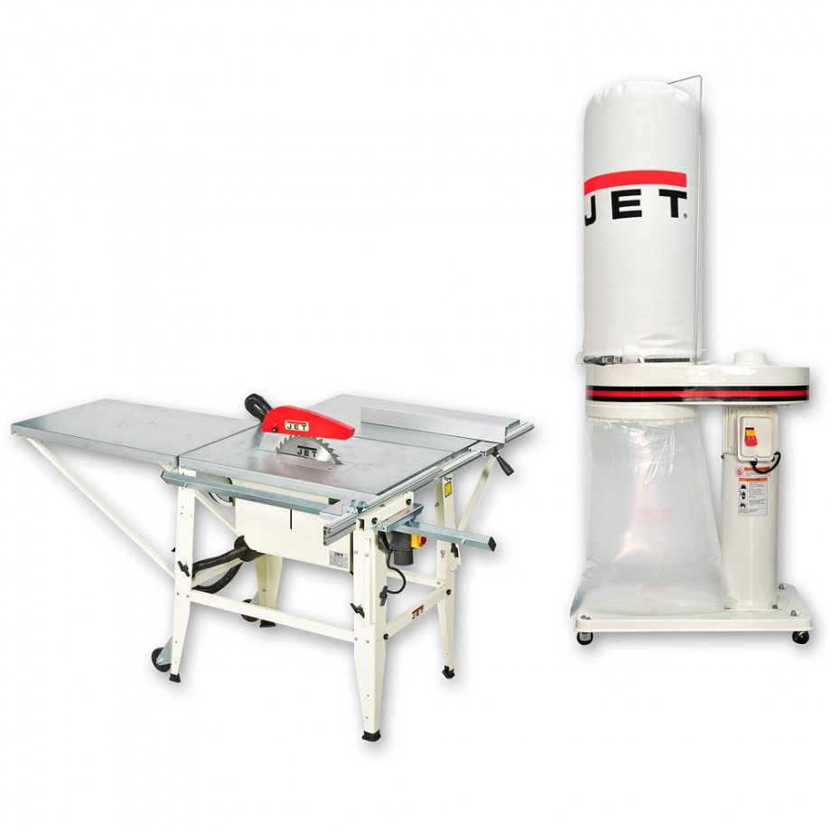 Jet JTS-315 S Site Saw Bench 230V & DC-950A Extractor - PACKAGE DEAL