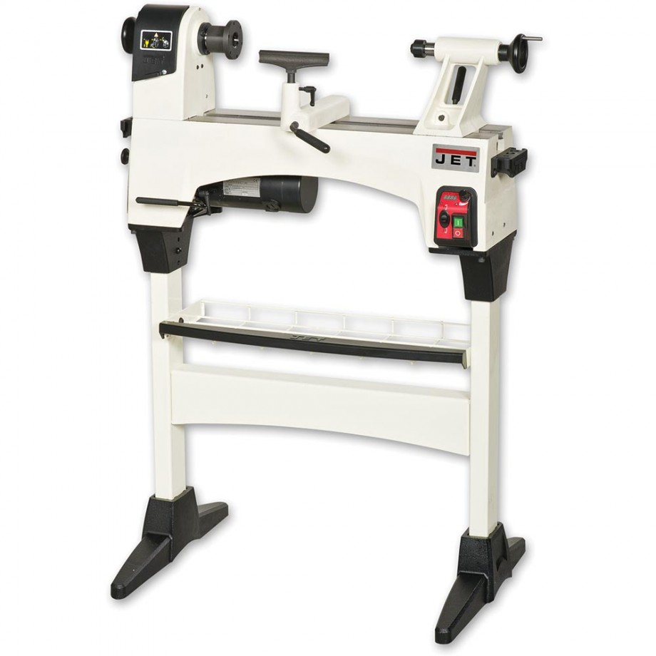 Jet JWL-1221VS Woodturning Lathe & Floor Stand - PACKAGE DEAL