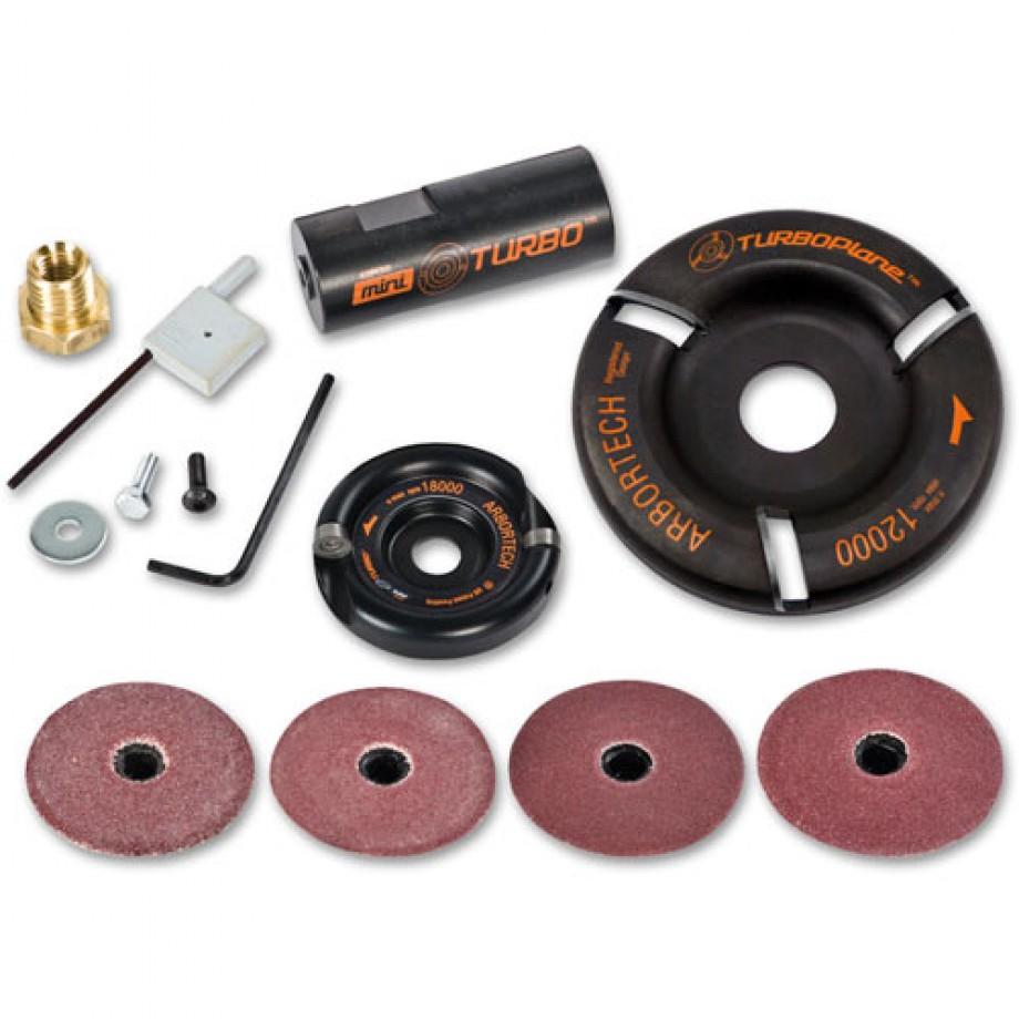 Arbortech Mini Turbo Kit & TurboPlane Blade - PACKAGE DEAL