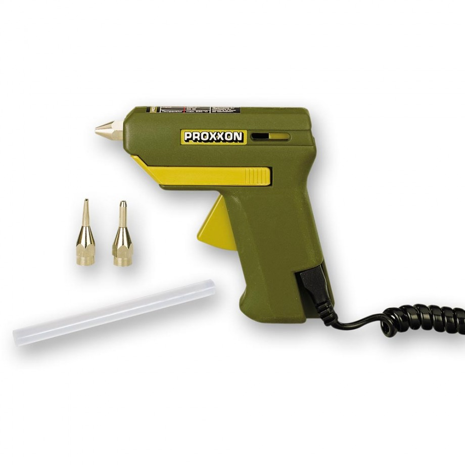 Proxxon HKP 220 Hot Melt Glue Gun & Glue Sticks - PACKAGE DEAL