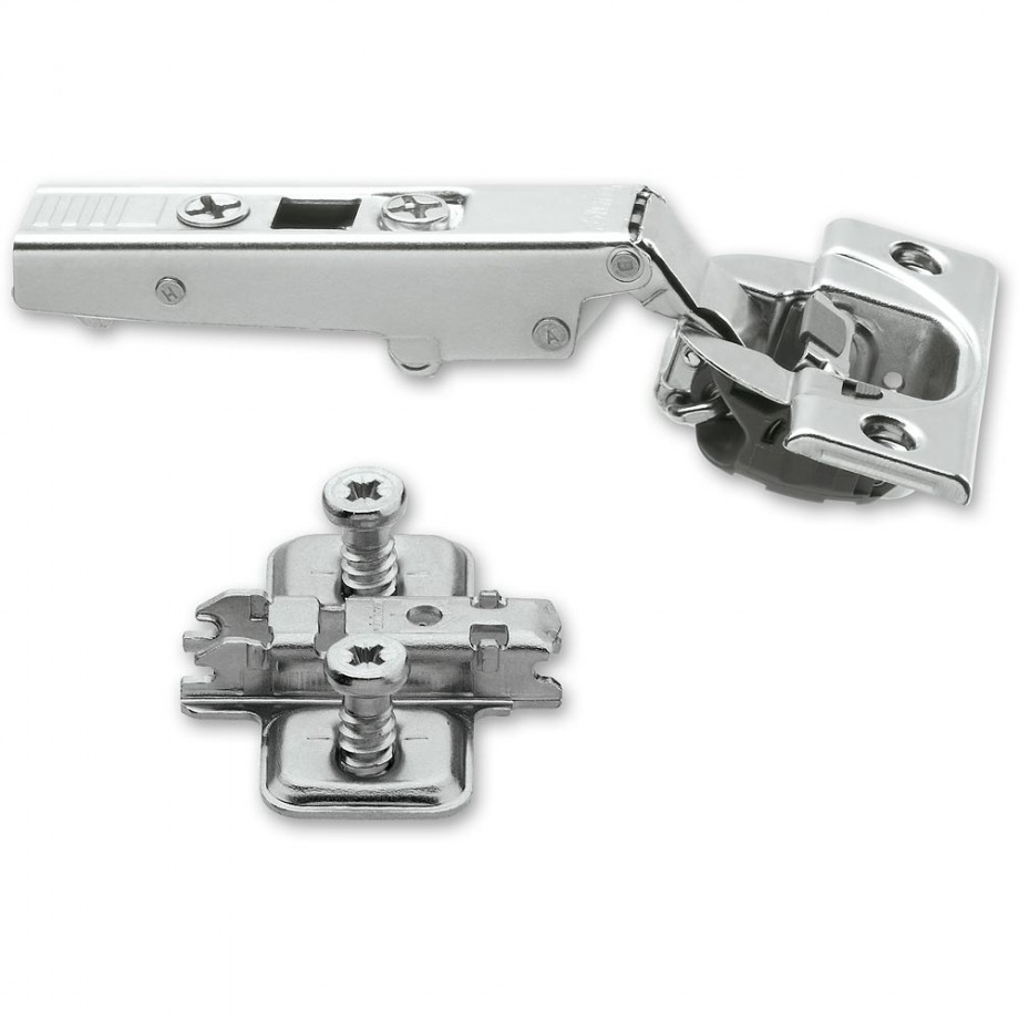 Blum CLIP-TOP 110 deg Soft Close Hinge & Mount Plate With Screws