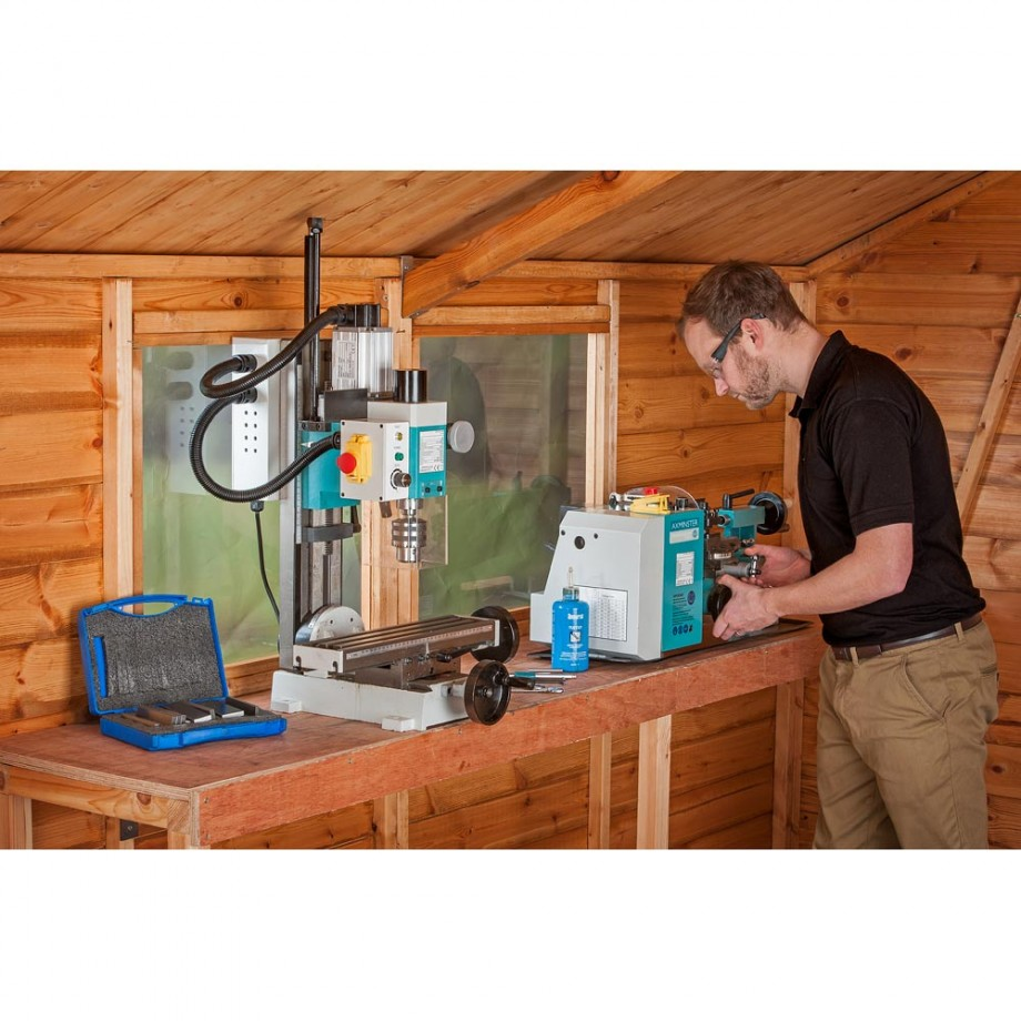 Axminster Model Engineer Series SC2 Mini Lathe & SX2 Mill - PACKAGE