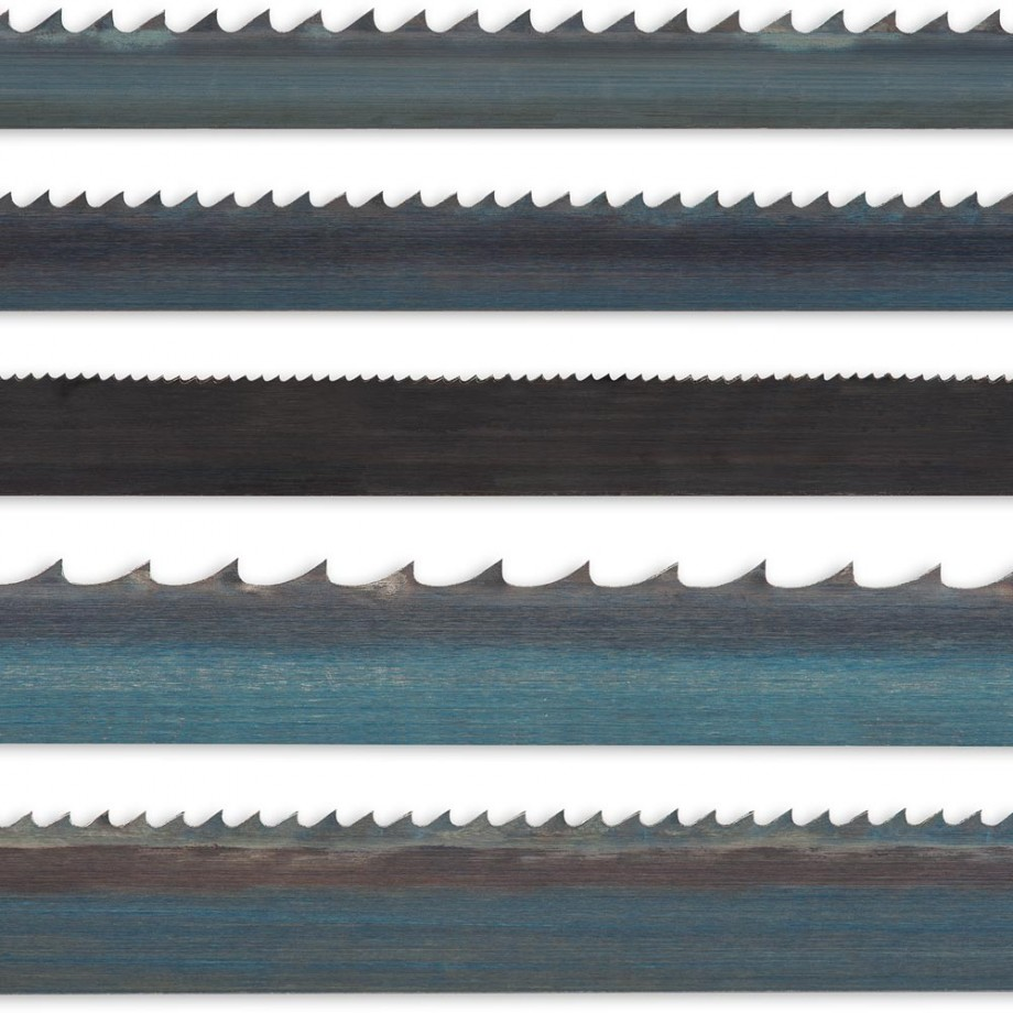 """Axcaliber Pack of 5 Bandsaw Blades - 1,400mm(55.1/8"""")"""