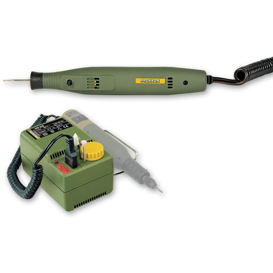 Proxxon GG 12 Engraving Tool & NG2/E Mains Adaptor - PACKAGE DEAL
