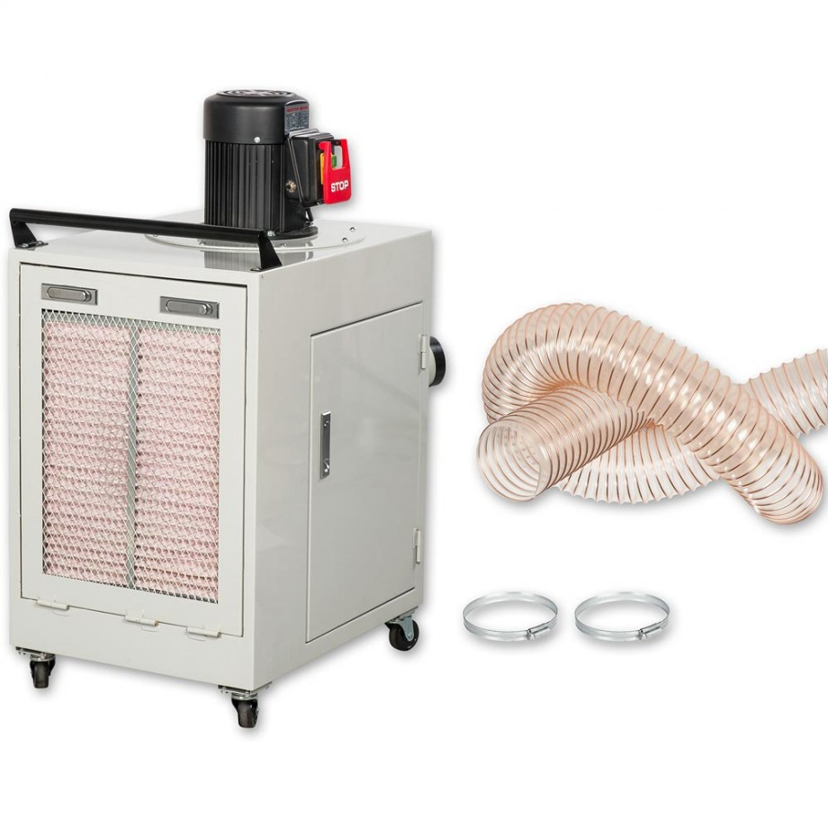 Axminster Engineer Series CT-502H Extractor, Hose & Fixings - PACKAGE DEAL