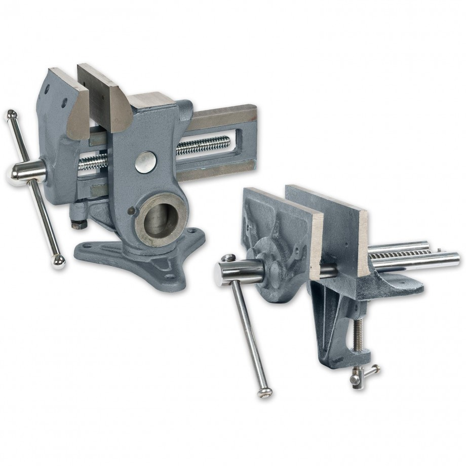 Axminster Trade Vices Universal Vice & Woodworker's Vice - PACKAGE DEAL