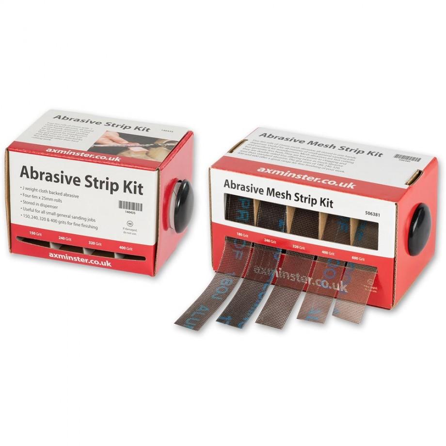 Axminster Abrasive Strip - PACKAGE DEAL