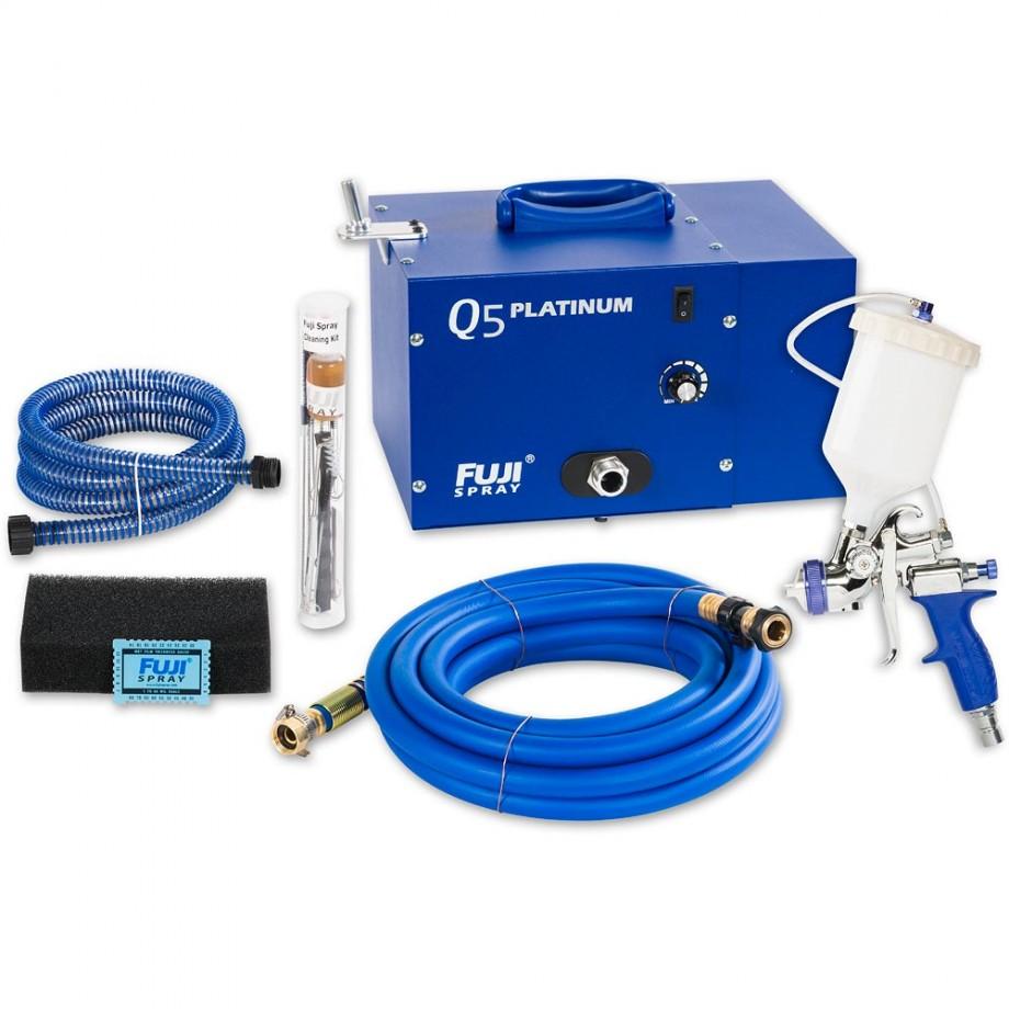 Fuji Q5 Platinum Turbine Unit & T75 Spray Gun