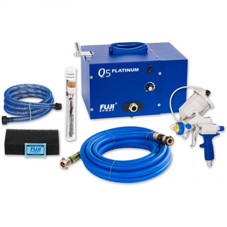 Fuji Q5 Platinum Turbine Unit c/w G-Xpc Spray Gun - PACKAGE DEAL